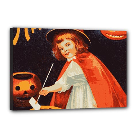 Haloweencard2 Canvas 18  X 12