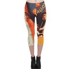 Haloweencard2 Capri Leggings