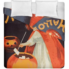 Haloweencard2 Duvet Cover Double Side (king Size)