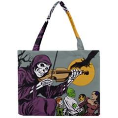 Playing Skeleton Mini Tote Bag