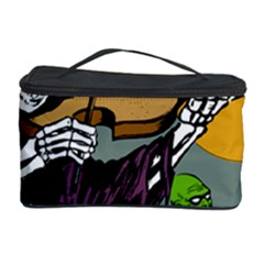 Playing Skeleton Cosmetic Storage Case