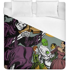 Playing Skeleton Duvet Cover (king Size)