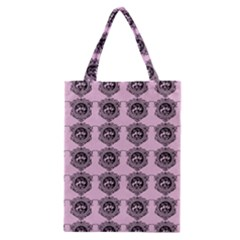 Three Women Pink Classic Tote Bag