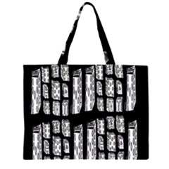 On Deck Zipper Large Tote Bag