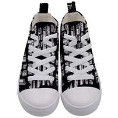 On Deck Kid s Mid Top Canvas Sneakers