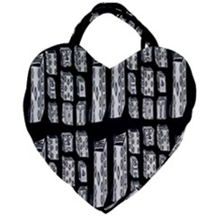 On Deck Giant Heart Shaped Tote