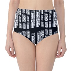 Numbers Cards 7898 High Waist Bikini Bottoms