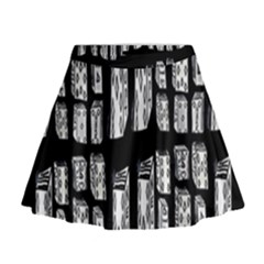 Numbers Cards 7898 Mini Flare Skirt