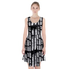 Numbers Cards 7898 Racerback Midi Dress
