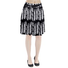 Numbers Cards 7898 Pleated Skirt
