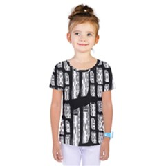 Numbers Cards 7898 Kids  One Piece Tee