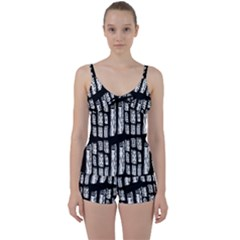 Numbers Cards 7898 Tie Front Two Piece Tankini
