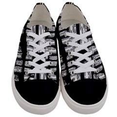 Numbers Cards 7898 Women s Low Top Canvas Sneakers