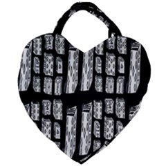 Numbers Cards 7898 Giant Heart Shaped Tote