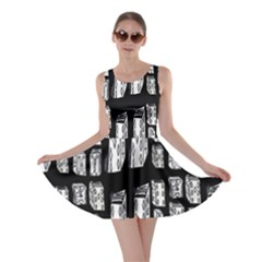 Numbers Cards 7898 Skater Dress