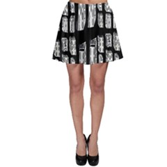 Numbers Cards 7898 Skater Skirt