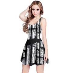 Numbers Cards 7898 Reversible Sleeveless Dress