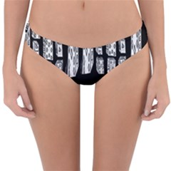 Numbers Cards 7898 Reversible Hipster Bikini Bottoms