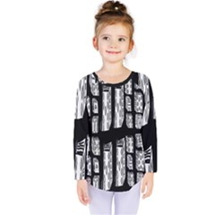 Numbers Cards 7898 Kids  Long Sleeve Tee