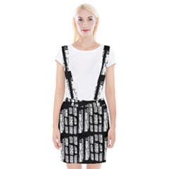 Numbers Cards 7898 Braces Suspender Skirt