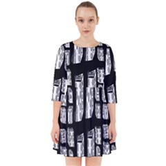 Numbers Cards 7898 Smock Dress