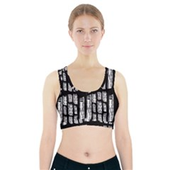 Numbers Cards 7898 Sports Bra With Pocket