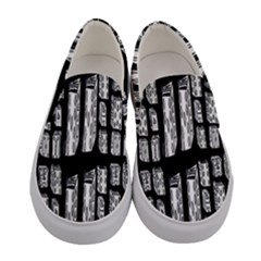 Numbers Cards 7898 Women s Canvas Slip Ons