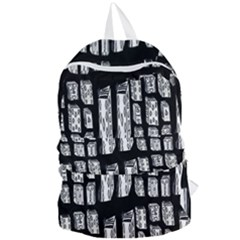 Numbers Cards 7898 Foldable Lightweight Backpack
