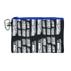 Numbers Cards 7898 Canvas Cosmetic Bag (large)