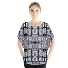 Numbers Cards 7898 Blouse