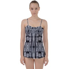 Numbers Cards 7898 Babydoll Tankini Set