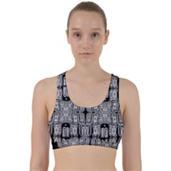 Numbers Cards 7898 Back Weave Sports Bra