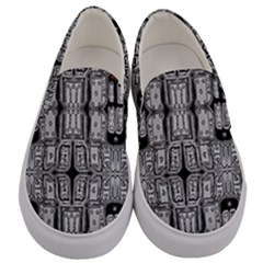 Numbers Cards 7898 Men s Canvas Slip Ons