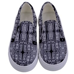 Numbers Cards 7898 Kids  Canvas Slip Ons