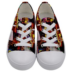 Home Sweet Home Kids  Low Top Canvas Sneakers