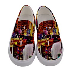 Home Sweet Home Women s Canvas Slip Ons