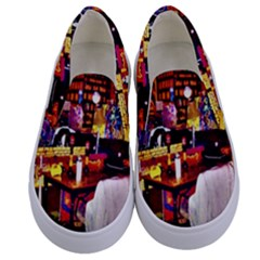 Home Sweet Home Kids  Canvas Slip Ons