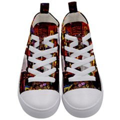 Home Sweet Home Kid s Mid Top Canvas Sneakers