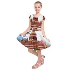 20180119 152218 Kids  Short Sleeve Dress