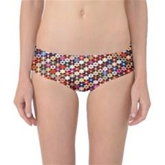 Mosaic Pattern Quilt Pattern Classic Bikini Bottoms