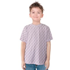 Pink Flowers Pink Kids  Cotton Tee