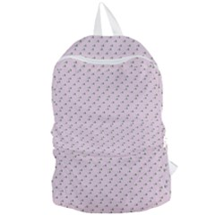 Pink Flowers Pink Foldable Lightweight Backpack