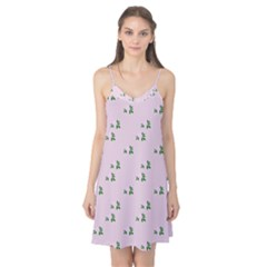Pink Flowers Pink Big Camis Nightgown