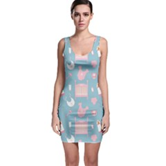 Baby Pattern Bodycon Dress