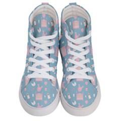 Baby Pattern Women s Hi Top Skate Sneakers