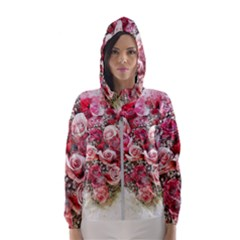 Flowers 2548756 1920 Hooded Wind Breaker (women)