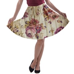On Wood 1897174 1920 A Line Skater Skirt