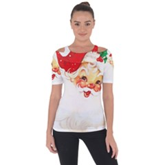 Santa Claus 1827265 1920 Short Sleeve Top