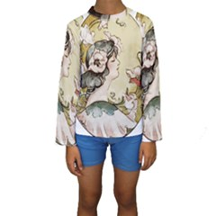 Lady 1650603 1920 Kids  Long Sleeve Swimwear