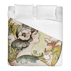Lady 1650603 1920 Duvet Cover (full/ Double Size)
